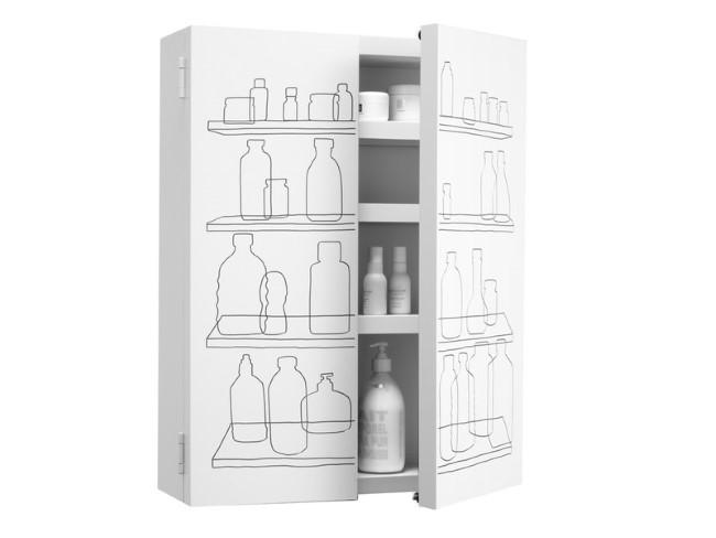 Вместительный белый шкаф от Authentics.
