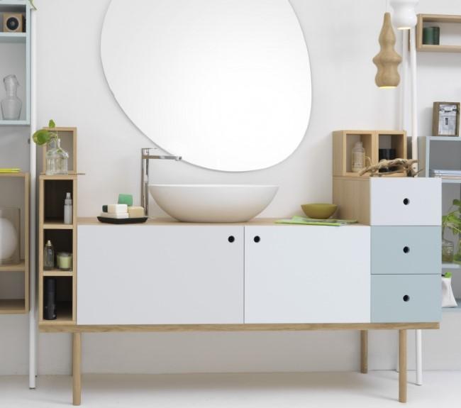 Просторный напольный шкаф от дизайнера Sigrid Strömgren.
