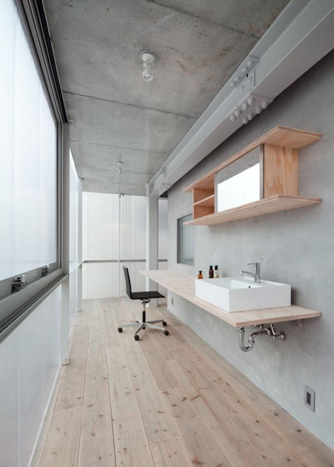 Стильная ванная комната японского дизайнера.