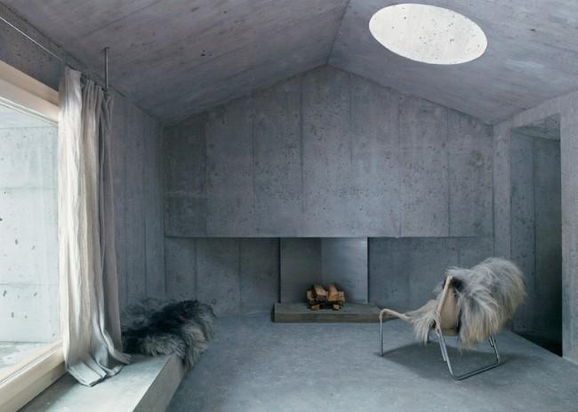 «Бетонный дом» от дизайнерской компании Nickisch Sano Walder Architects.