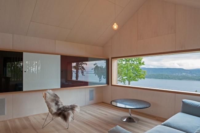 Стильный норвежский дом с потрясающими видами из окон.