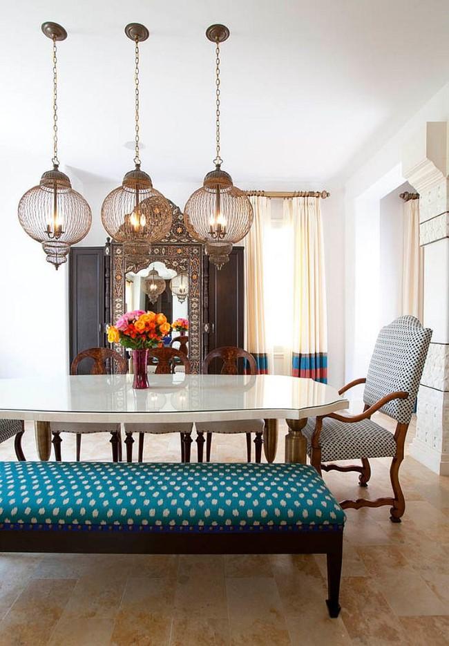 Великолепные люстры в восточном стиле из новой коллекции Giltspur Chandelier.