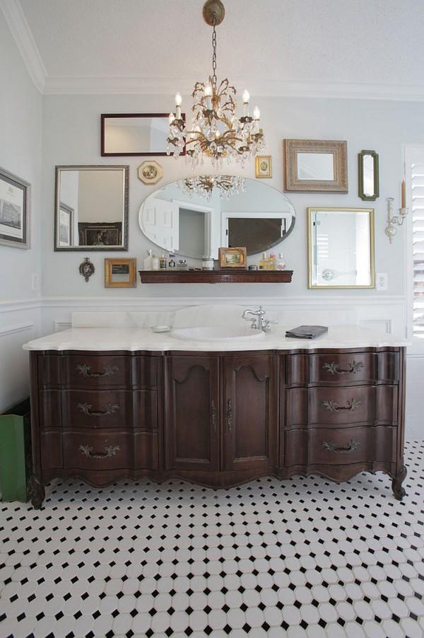 Коллекция зеркал для уникальной ванной