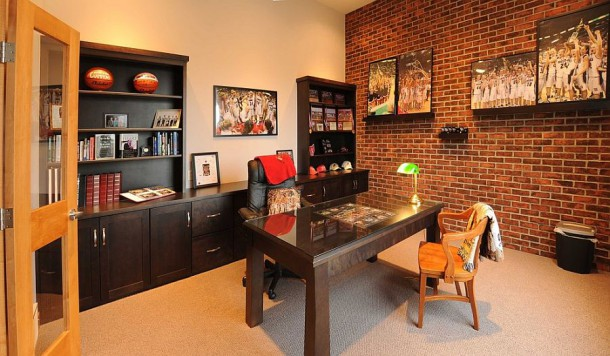 Превратите одинокую кирпичную стену в Вашем доме в шикарную галерею