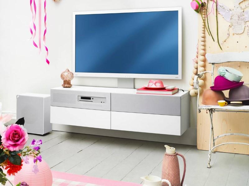Основные способы крепления телевизора на стене.